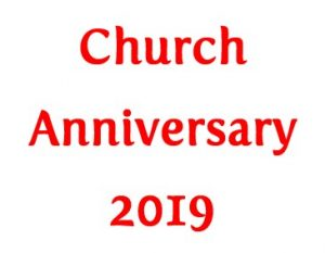 Church Anniversary 2019